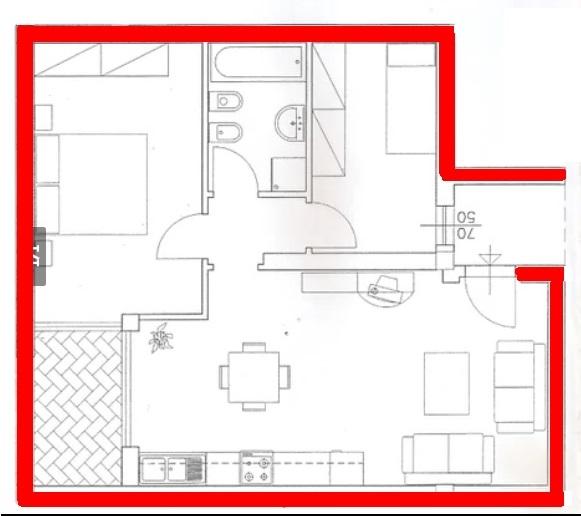Appartamento in vendita a Pesaro, 3 locali, zona Zona: Villa San Martino , prezzo € 180.000 | CambioCasa.it