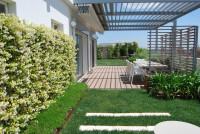 P421 Nuovo bicamere con giardino privato centralissimo ad Abano