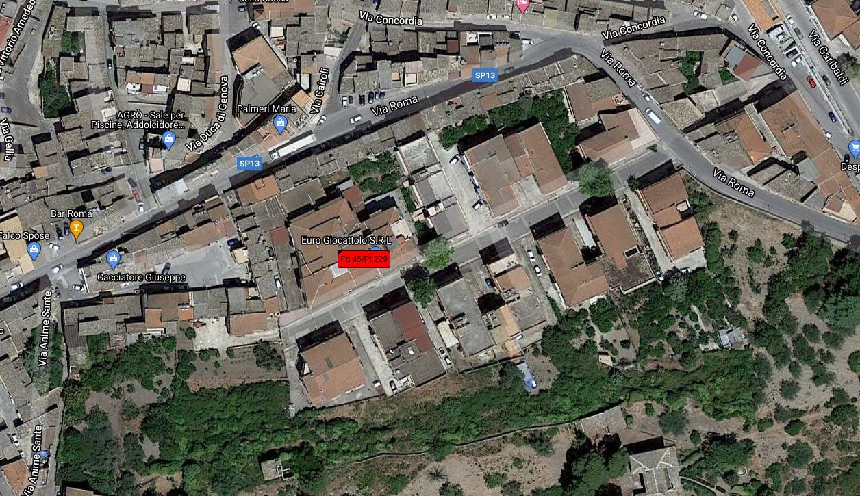 LOCALE COMMERCIALE ALL'ASTA IN VIA CARDILLO, RACALMUTO (AG)