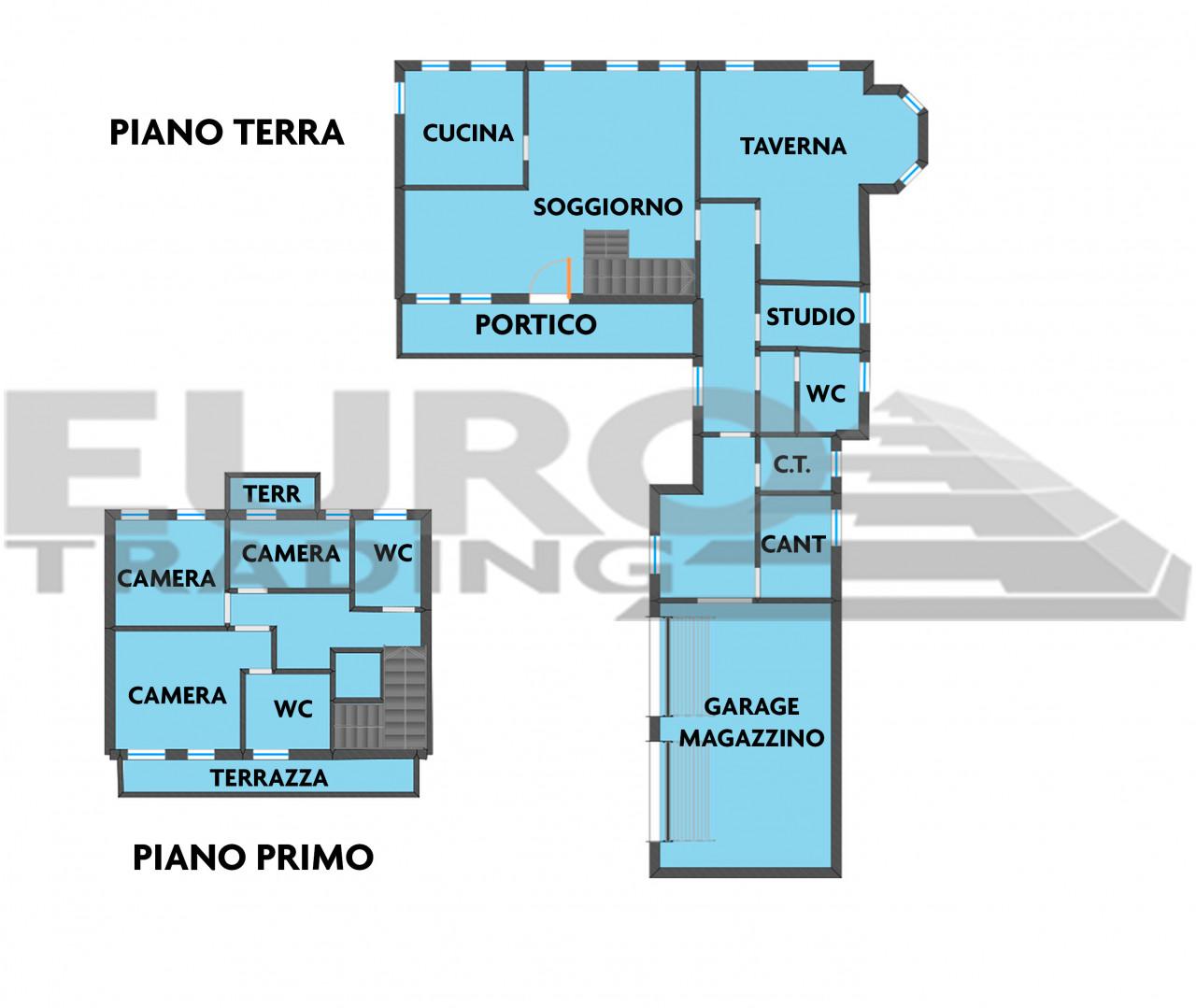 SCORZE': Loc. Peseggia prestigiosa villa singola con 3500 mq di parco