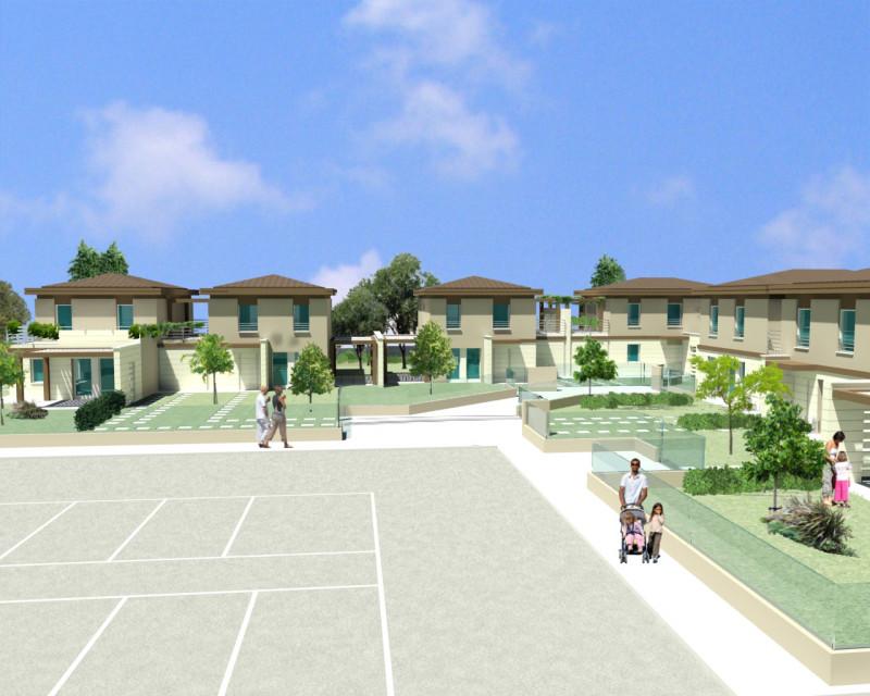 Villa a Schiera in vendita a Ronco all'Adige, 4 locali, prezzo € 235.000 | CambioCasa.it