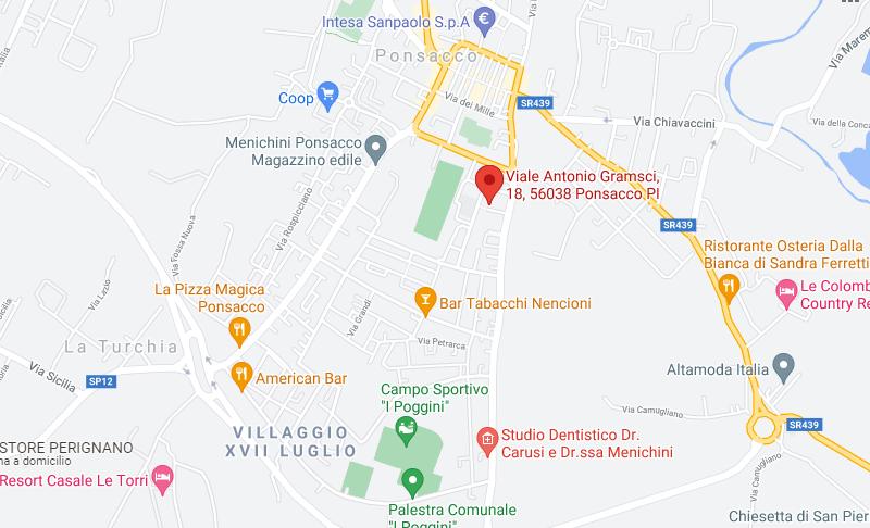 LABORATORIO CON ACCESSORI ALL'ASTA IN VIA ANTONIO GRAMSCI, PONSACCO (PI)