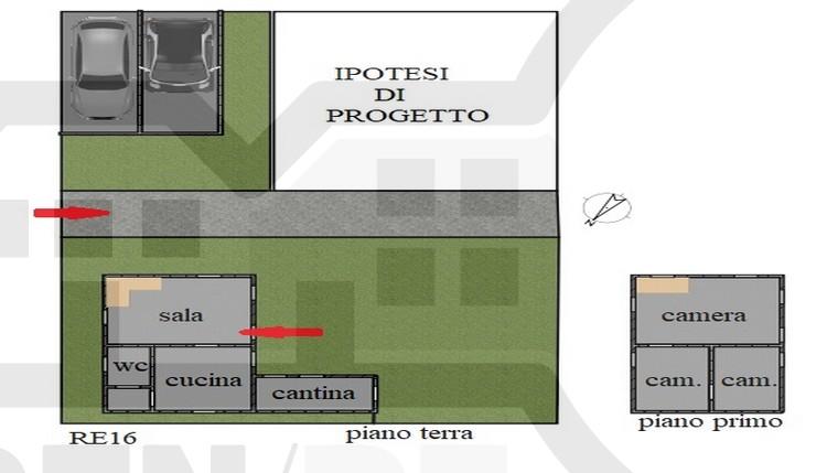 CASA COLONICA DA RISTRUTTURARE (Solarolo Campagna)