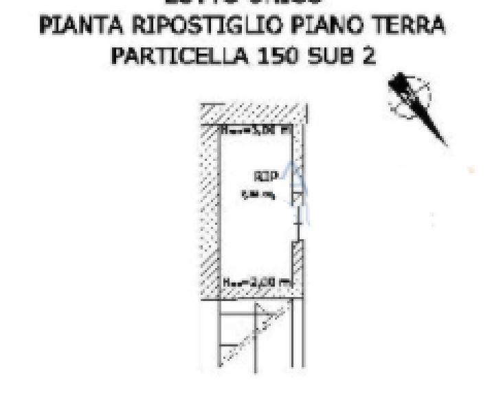 APPARTAMENTO CON DEPOSITO DA ULTIMARE ALL'ASTA IN VIA CASARINOLI, SESSA AURUNCA (CE)