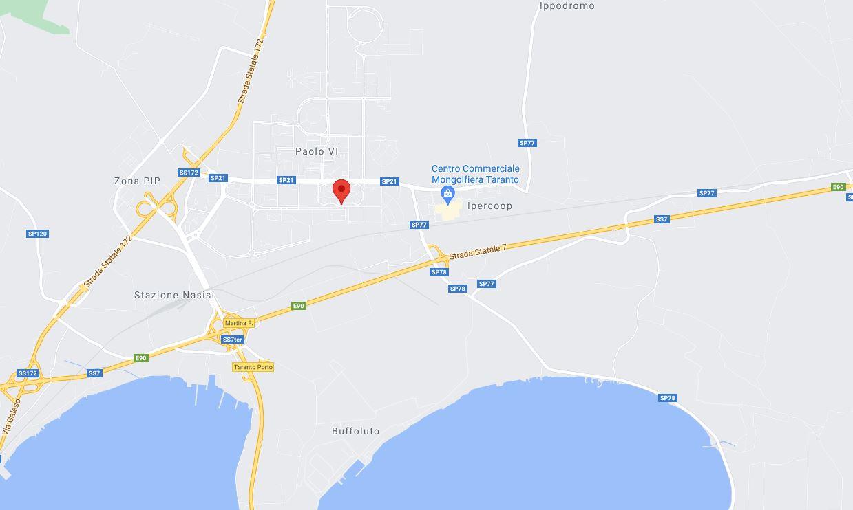 TORRE SPECCHIATA DA ULTIMARE ALL'ASTA IN PIAZZA PERTINI, LOC. PAOLO VI, TARANTO (TA)
