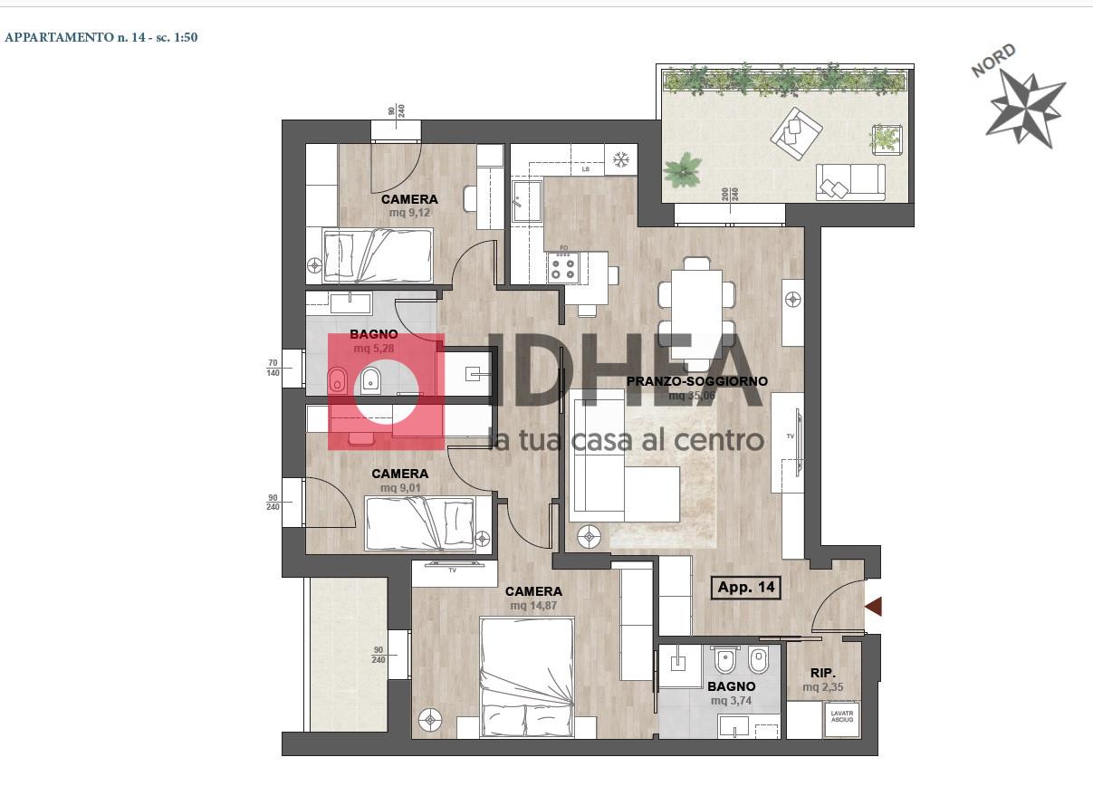 Nuova costruzione - Quadrilocale al secondo piano