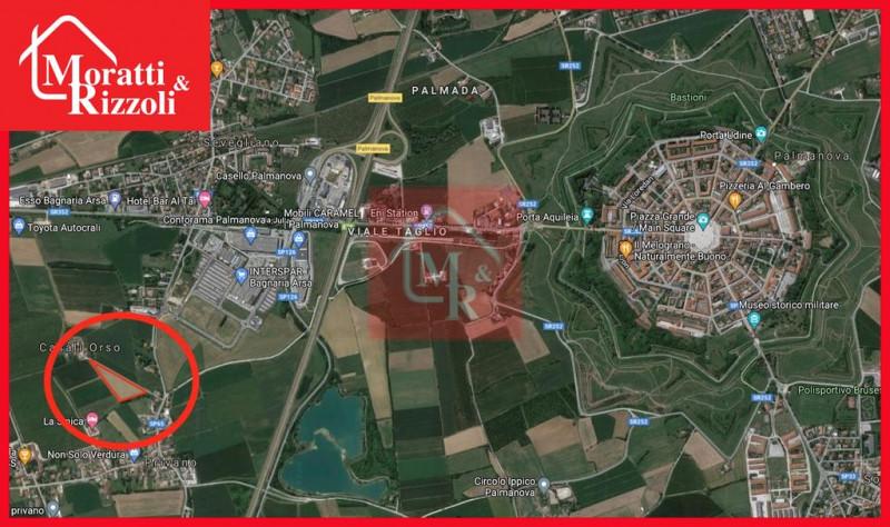 Terreno Edificabile Residenziale in vendita a Bagnaria Arsa, 9999 locali, zona Zona: Privano, prezzo € 130.000   CambioCasa.it